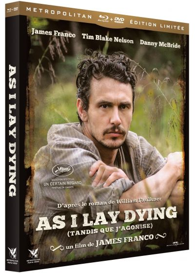 As I Lay Dying (Tandis que j'agonise) (Édition Limitée Blu-ray + DVD) - Blu-ray
