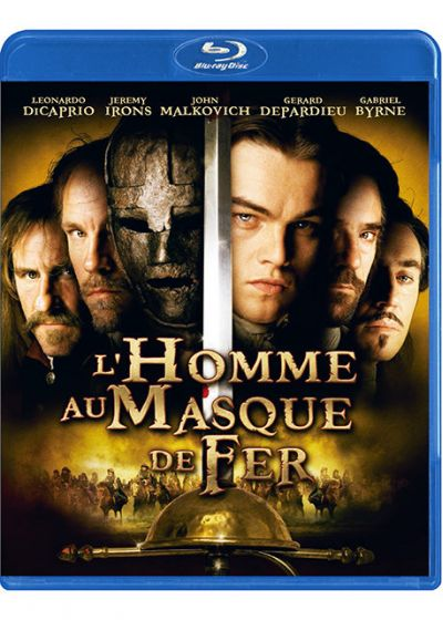 L'Homme au masque de fer (Pack Duo Blu-ray + DVD) - Blu-ray