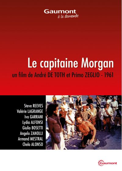 Le Capitaine Morgan - DVD