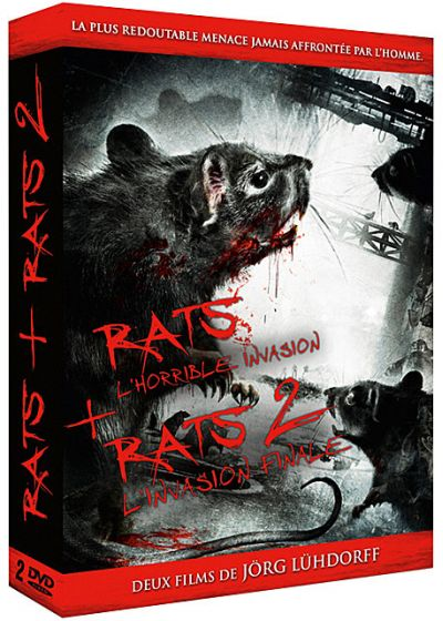 Rats - L'invasion commence + Rats 2 - L'invasion finale (Pack) - DVD