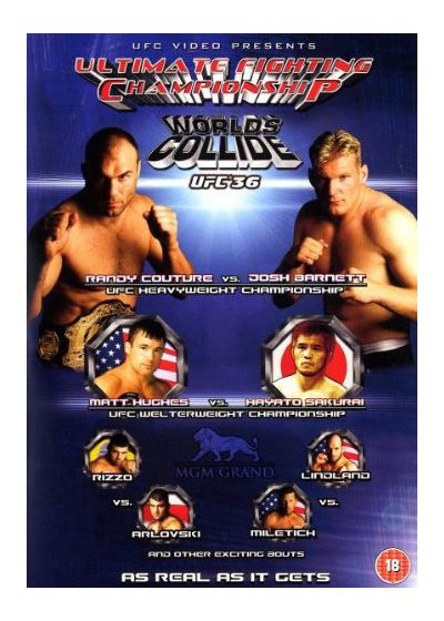 UFC 36 : Worlds Collide - DVD