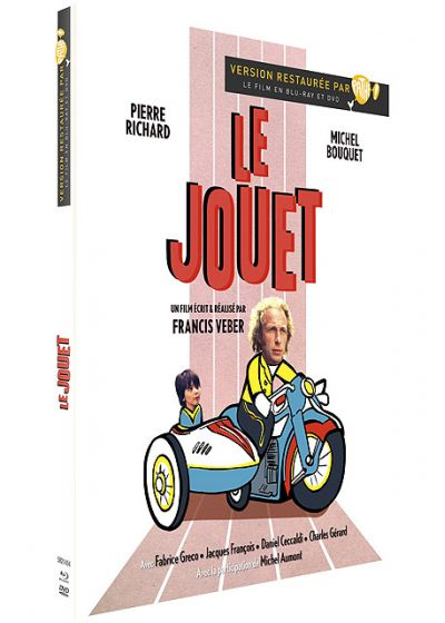 Le Jouet (Édition Digibook Collector Blu-ray + DVD) - Blu-ray