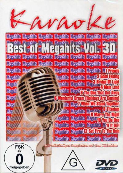 Karaoké - Best of Megahits Vol. 30 - DVD