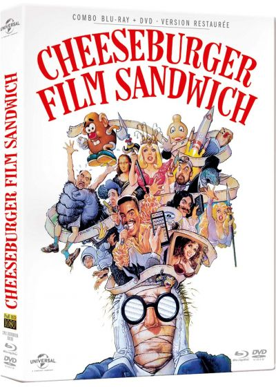 Cheeseburger Film Sandwich (Combo Blu-ray + DVD) - Blu-ray