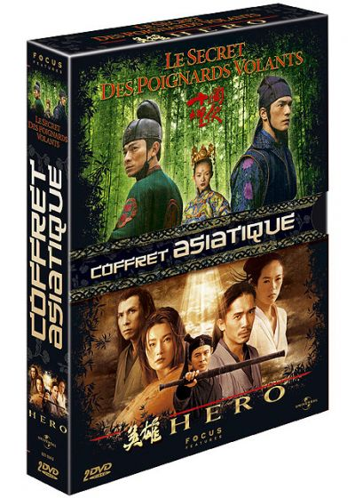 Coffret Asiatique - Le secret des poignards volants + Hero (Pack) - DVD