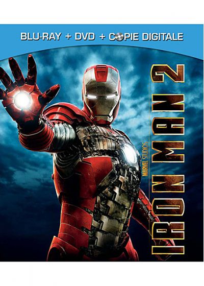 Iron Man 2 (Combo Blu-ray + DVD + Copie digitale) - Blu-ray