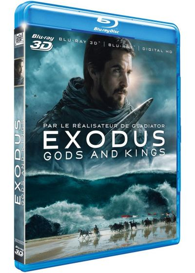 Exodus : Gods and Kings (Combo Blu-ray 3D + Blu-ray 2D + Digital HD) - Blu-ray 3D