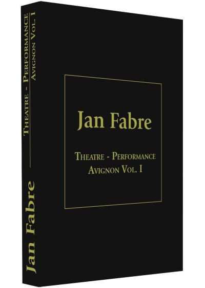 Jan Fabre : Théâtre Performance Festival d'Avignon - Vol. 1 - DVD