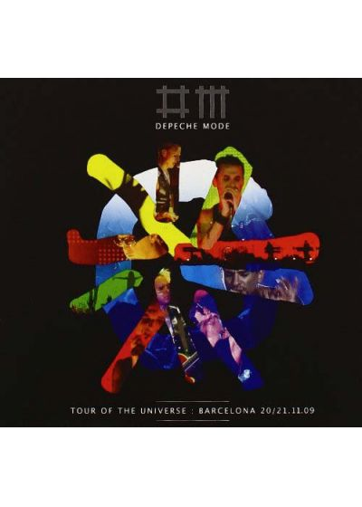 Depeche Mode - Tour of the Universe : Barcelona 20/21.11.09 (Edition Deluxe) - DVD