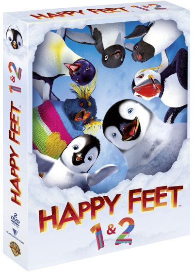 Happy Feet + Happy Feet 2 - DVD