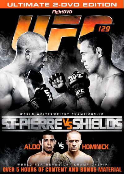 UFC 129 : St-Pierre vs Shields - DVD