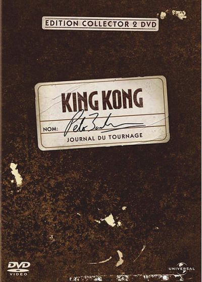 King Kong - Le journal du tournage (Édition Collector) - DVD