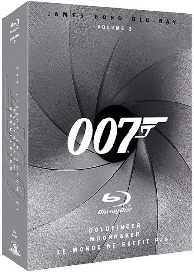 James Bond Blu-ray - Volume 3 (Pack) - Blu-ray