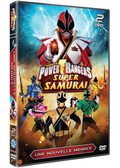 Power Rangers Super Samouraï - Vol. 3 : Une nouvelle menace - DVD