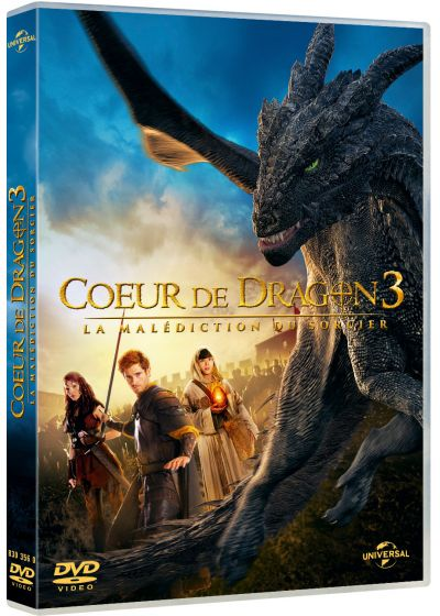 Coeur de dragon 3 : La Malédiction du sorcier - DVD