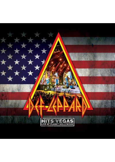 Def Leppard - Hits Vegas, Live At Planet Hollywood (DVD + CD) - DVD
