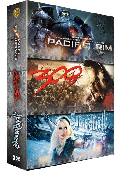 Pacific Rim + Sucker Punch + 300 (Pack) - DVD
