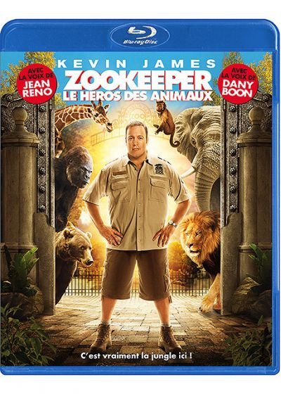 Zookeeper, le héros des animaux (Blu-ray Hybrid (film/jeu)) - Blu-ray