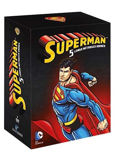 Superman - 5 longs métrages animés - DVD