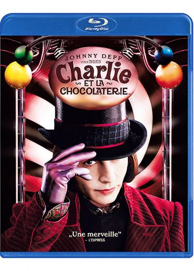 Charlie et la chocolaterie - Blu-ray