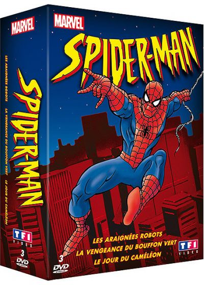 Spider-Man - Coffret - Volumes 1 à 3 - DVD