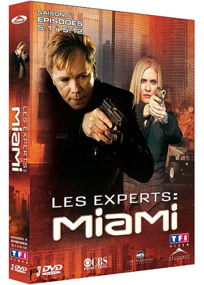Les Experts : Miami - Saison 5 Vol. 1 - DVD