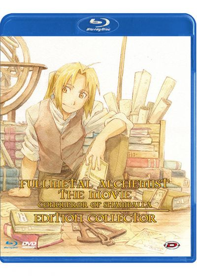 Fullmetal Alchemist - Le Film : Conqueror of Shamballa (Édition Collector) - Blu-ray