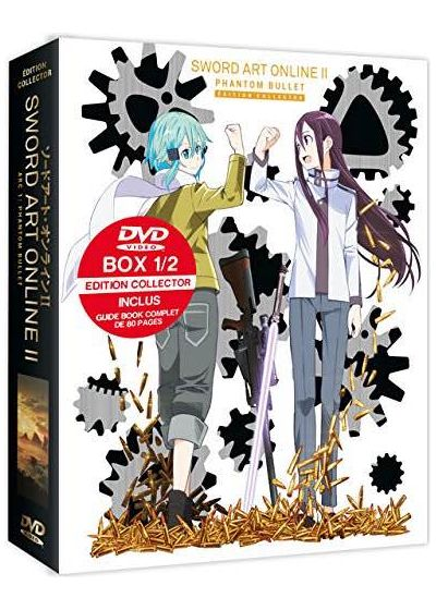 Sword Art Online - Saison 2, Arc 1 : Phantom Bullet (SAOII) (Édition Collector) - DVD