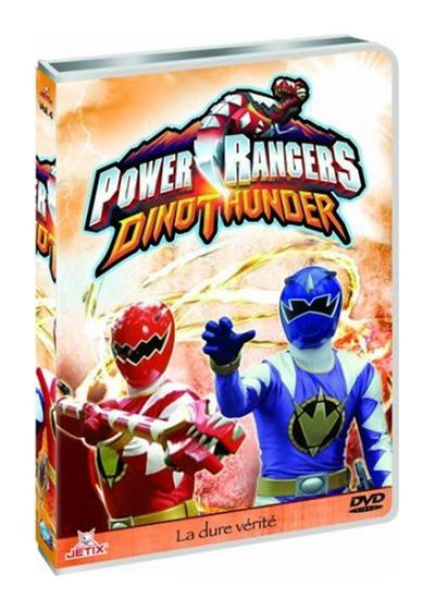 Power Rangers : Dino Thunder - Vol. 4 - DVD
