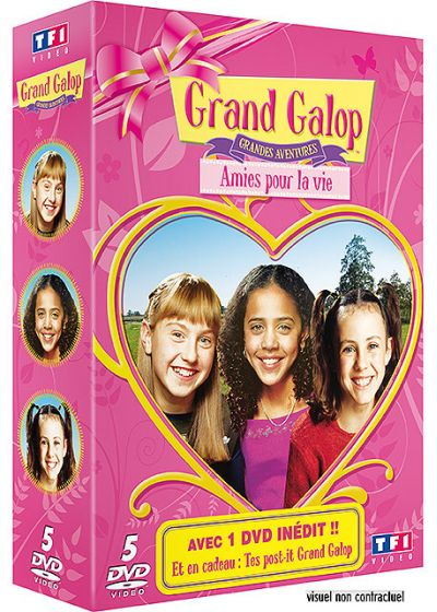 Grand galop - Coffret longs métrages - 5 DVD (Pack) - DVD