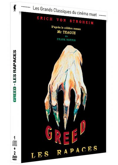 Greed - Les rapaces (+ 1 CD Audio) - DVD