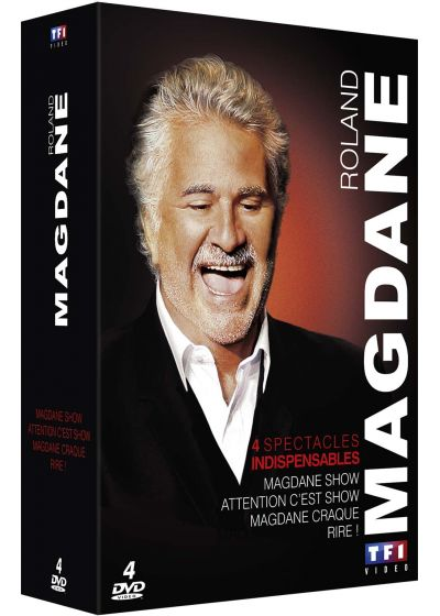 Roland Magdane - Coffret : Magdane Show + Attention c'est Show + Magdane craque ! + Rire ! (Pack) - DVD