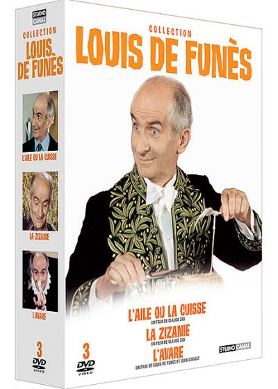 Collection Louis de Funès - L'aile ou la cuisse + La zizanie + L'avare - DVD