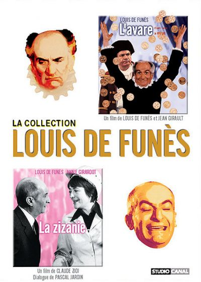 Collection de Funès - L'Avare & La zizanie - DVD