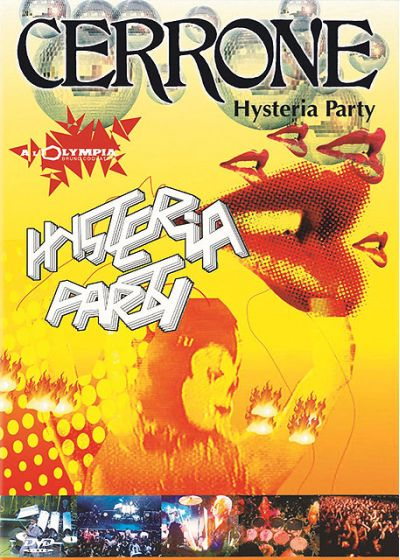 Cerrone - Hysteria Party - DVD