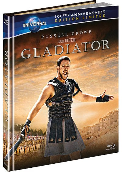 dvdfr gladiator dition limit e 100 me anniversaire universal digibook blu ray. Black Bedroom Furniture Sets. Home Design Ideas