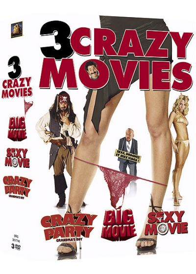 Coffret Crazy Movies (Pack) - DVD