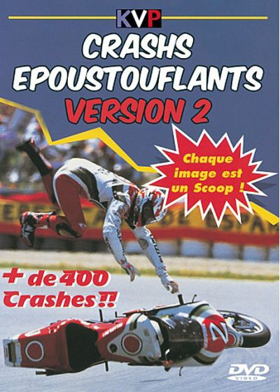 Crashs époustouflants - Version 2 - DVD