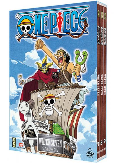 One Piece - Water 7 - Coffret 3 - DVD