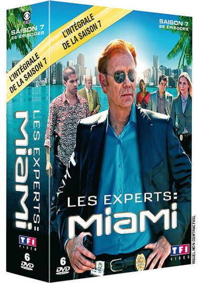 Les Experts : Miami - Saison 7 - DVD