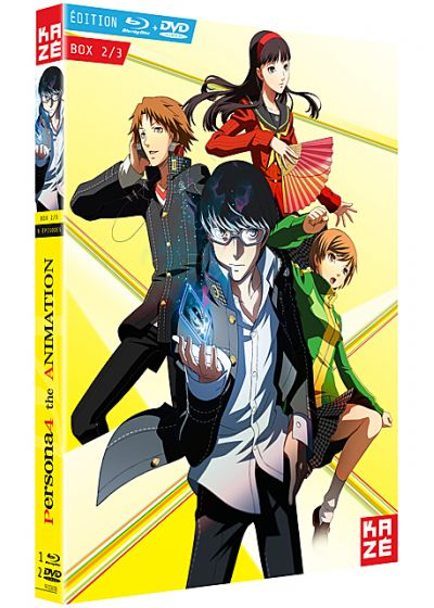 Persona 4 : The Animation - Box 2/3 (Combo Blu-ray + DVD) - Blu-ray