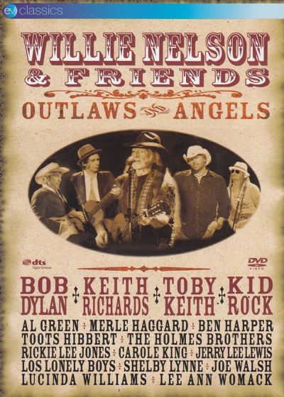 Willy Nelson & Friends : Outlaws and Angels - DVD