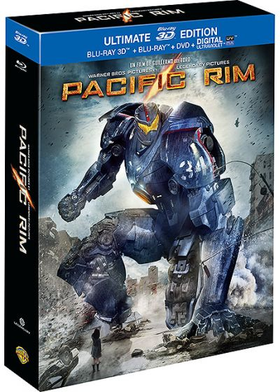 Pacific Rim (Ultimate Edition - Blu-ray 3D + Blu-ray + DVD + Copie digitale) - Blu-ray 3D