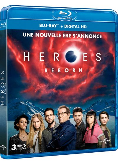 Heroes Reborn - Saison 1 (Blu-ray + Copie digitale) - Blu-ray