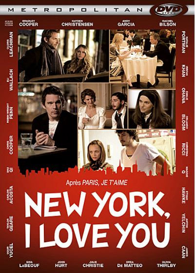 New York, I Love You - DVD
