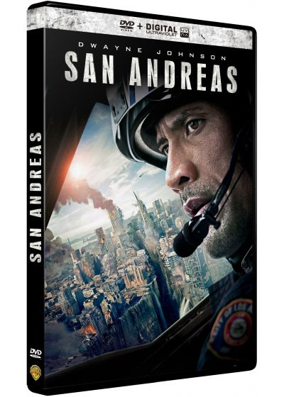 San Andreas (DVD + Copie digitale) - DVD