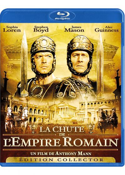 La Chute de l'empire romain (Édition Collector) - Blu-ray