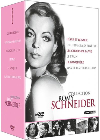 Collection Romy Schneider (Pack) - DVD