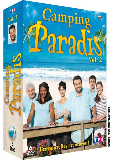 Camping Paradis - Coffret vol. 2 (Pack) - DVD