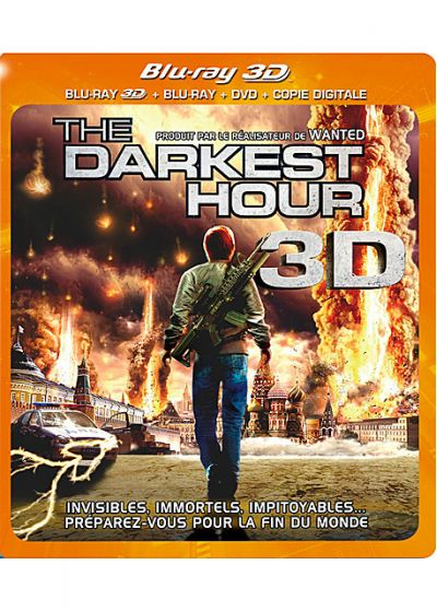 The Darkest Hour (Combo Blu-ray 3D + Blu-ray + DVD) - Blu-ray 3D